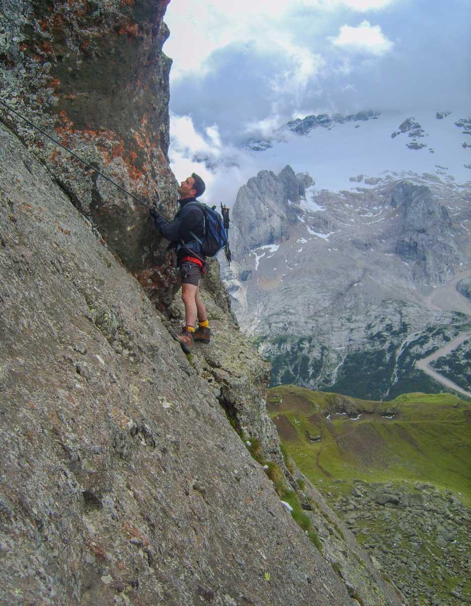 Via Ferrata in the Dolomites