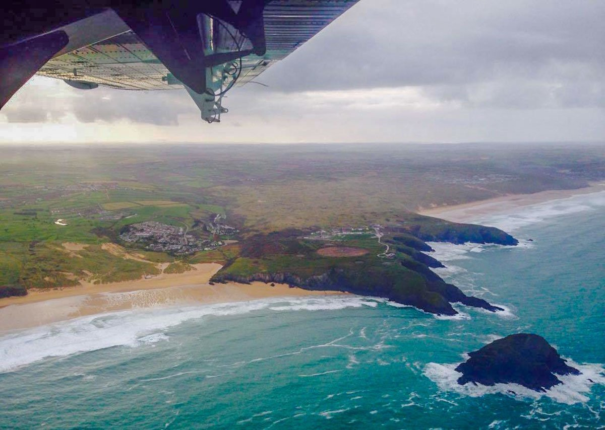 SkyBus scilly isles