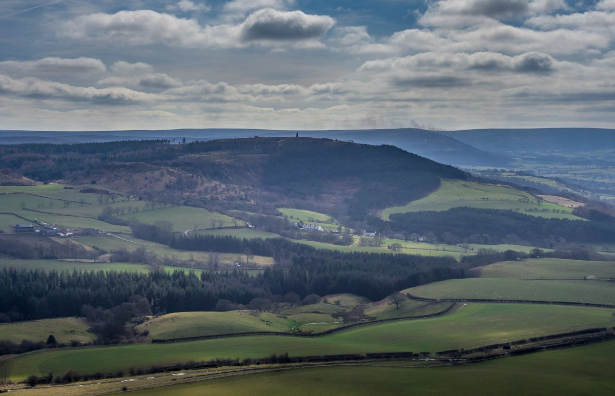 A Walk Up Roseberry Topping - A North Yorkshire Icon