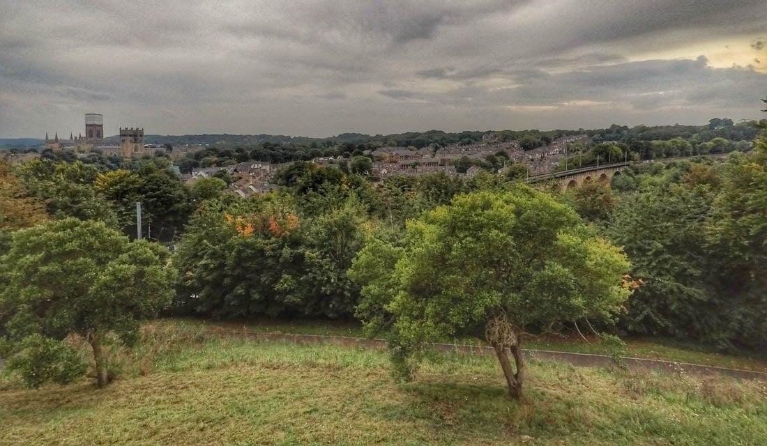 Durham - Wharton Park to City Views