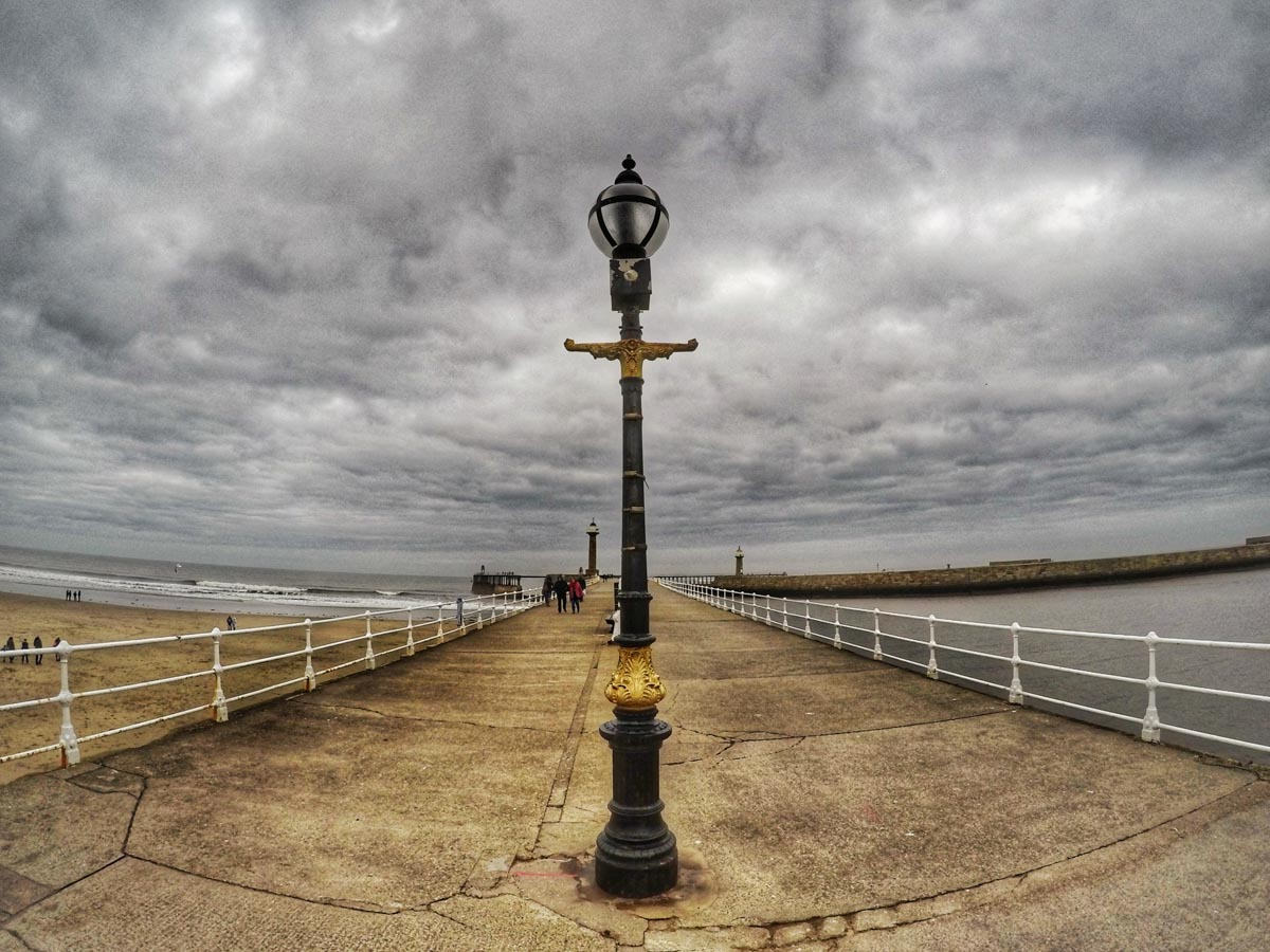 the harbour at whitby