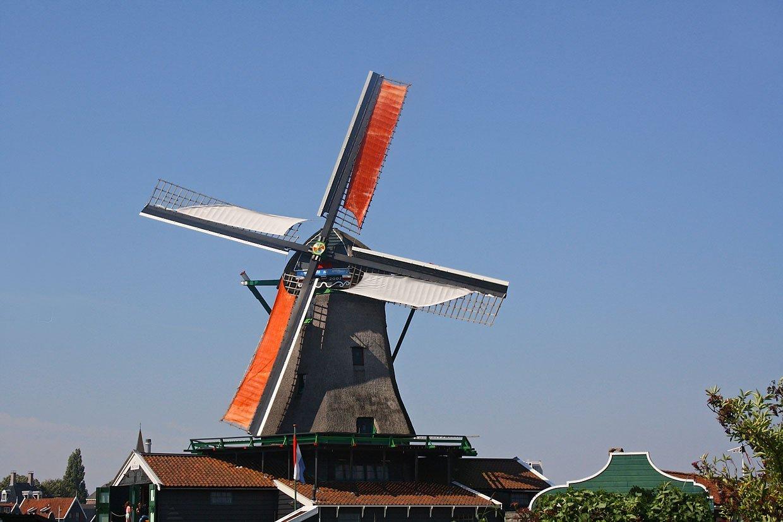 The Windmills of the Zaanse Schans