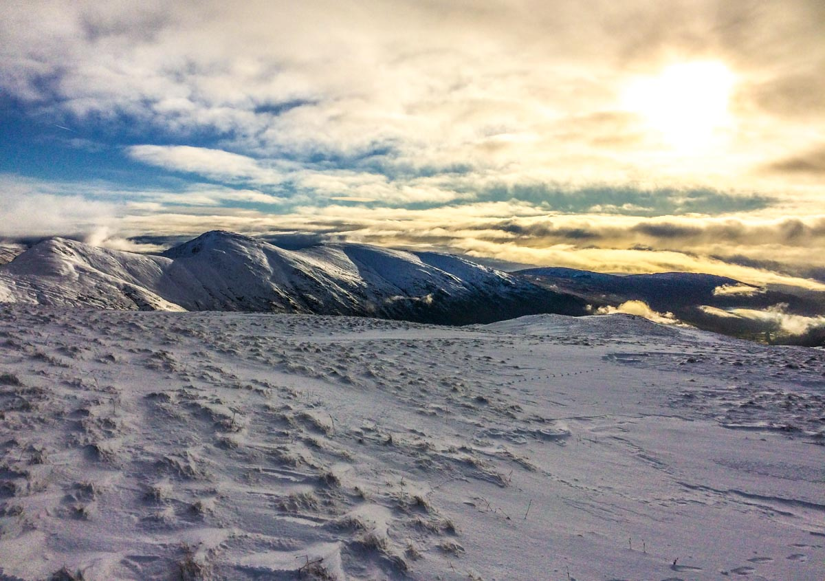 Walking in a Winter Wonderland - Lake District