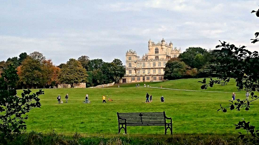 Wollaton Hall and Gardens - The Home of Batman, Nottingham