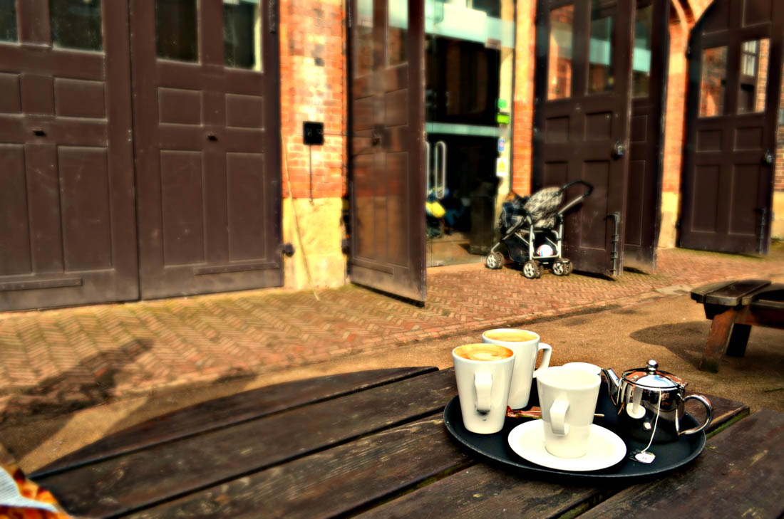 Café in the Courtyard & The Potting Shed at Wollaton Park Nottingham