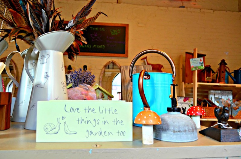 gifts in potting shed