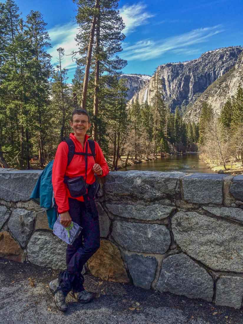 Sheena Findlay in Yosemite